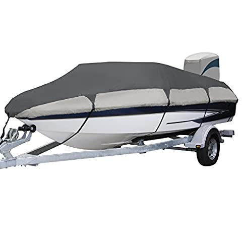Classic Accessories Orion Trailerable Boat Cover With Cam Buckle For Ski Boats, 17'-19' Long, Up to 102