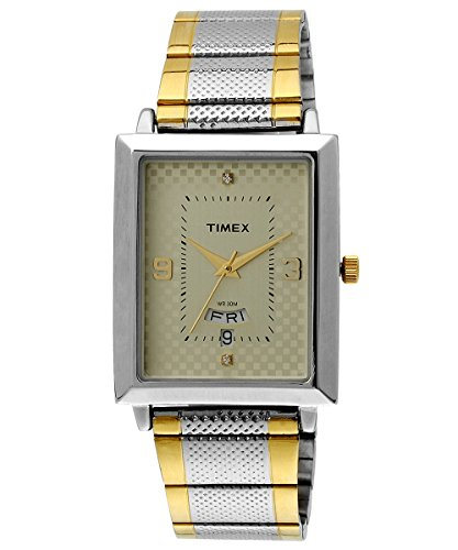 Timex Classics Analog Beige Dial Men's Watch - TW000Q407 image