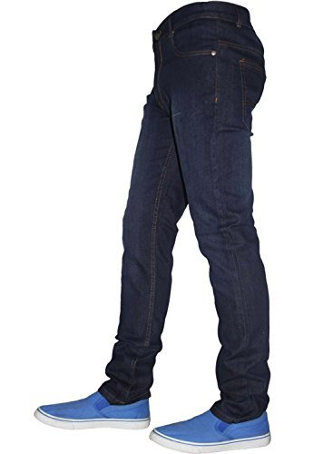 Herren G-72 Reißverschluss Im Hosenschlitz Stretch Eng Enganliegend Denim Jeans Baumwollhose Hose Dunkelblau