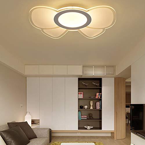HviLit Moderna lampada da soffitto a LED 10W / 27W / 41W Montaggio creativo Cartoon Camera da letto for bambini Lampada a sospensione a soffitto a risparmio energetico Ferro Ferro da stiro Corridoio B