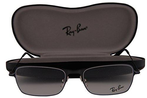 Ray-Ban RX6253 Eyeglasses 52-18-140 Metallic Blue 2755 RB6253 RX 6253 RB 6253 image