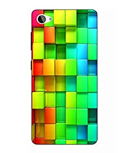 Case Cover Abstract Printed Colorful Hard Back Cover For Lenovo Z2 Plus