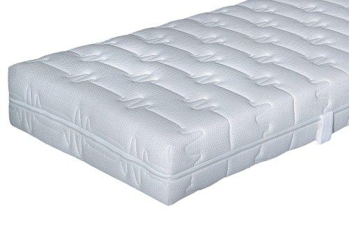 Hn8 Comfort Tonnentaschenfederkern-Matraze Magic Clean, 7 Zonen, Federkern + Kaltschaum - Grösse 200x220 - Härtegrad H3