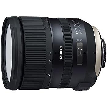 Tamron T81066 - Objetivo para cámara Nikon (SP 24-70mm, apertura F/2.8 Di, rendimiento de estabilización VC USD G2 A032)