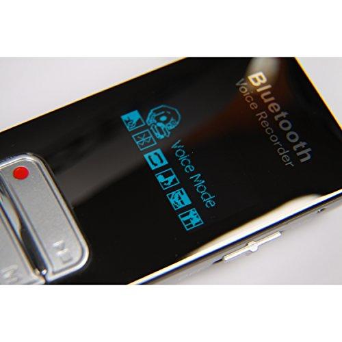 Digitales Diktiergerät DVR-188 mit Bluetooth® - Fernaufnahmen von Telefongesprächen