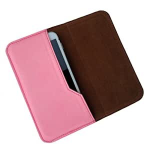 i-KitPit : PU Leather Flip Pouch Case Cover For Nokia Lumia 930 (LIGHT PINK)