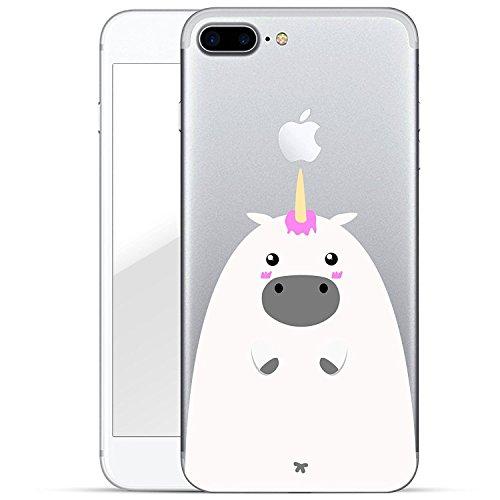 Blitz® PANDA motifs housse de protection transparent TPE caricature bande iPhone Trois bébés panda doux M1 iPhone 5c licorne blanche M14
