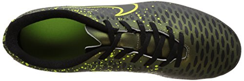 Nike Herren Magista Ola Fußballschuhe Schwarz (Schwarz/Gelb)