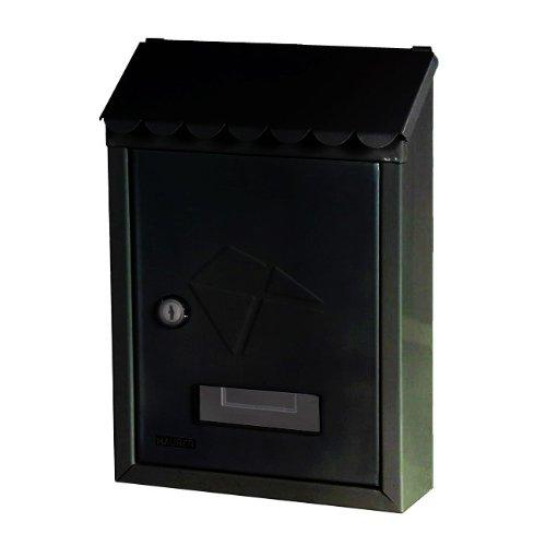 Maurer 3080540 - Buzón Maurer Exterior 21x30x6,8 cm. Negro