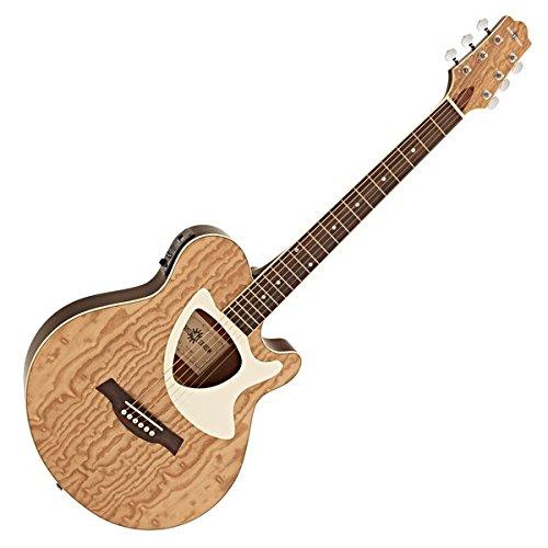 Guitarra Electroacústica Deluxe Thinline de Gear4music -