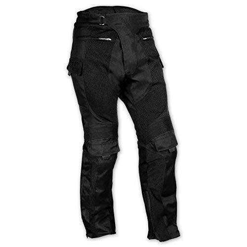 A-pro Pantalon Tissu Pretections Genoux Impermeable Respirant Moto Eté Homme 34