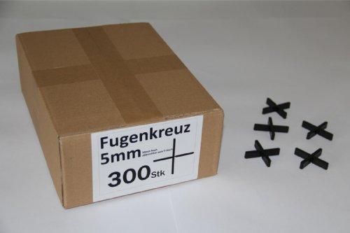 Fugenkreuze 5mm, Bauhöhe 10mm, 300 Stück im Karton