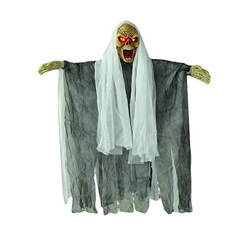 Halloween Haus Zubehör - EDQZ Halloween-Zubehör, Dekoration für den Außenbereich,