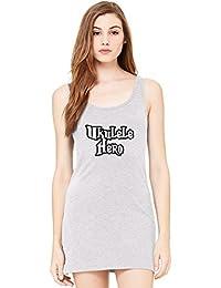 Love my sneakers Tunica Smanicata Bella Basic Sleeveless Tunic Tank Dress For Women hhXKZ8OYnu
