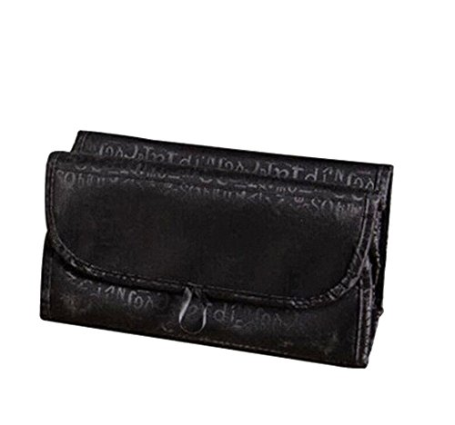 YARBAR Haute Qualité multifonction Cosmetic Bag Black