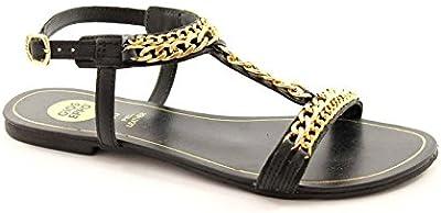 Gioseppo - Sandalias de vestir para mujer Negro negro