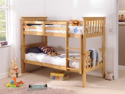 Snuggle Beds Madison (Bunk Bed) Antique Pine 3' Single Bunk Beds
