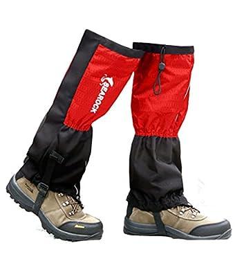 Showtime Gamaschen Hiking Gaiter Unisex wasserabweisend Atmungsaktiv Winddicht One Size mit Flanell
