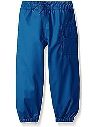 Hatley Childrens Splash Pant -Classic Navy - Pantalones Impermeable Niñas