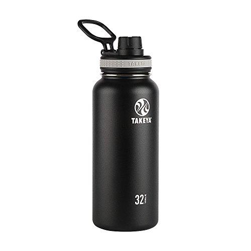 Takeya Originals Trinkflasche aus Edelstahl vakuumisoliert 32 oz schwarz -