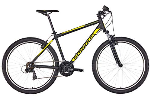 SERIOUS Rockville 27,5\'\' Black/Yellow Rahmenhöhe 50cm 2019 MTB Hardtail