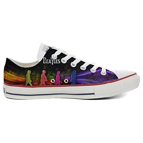 Converse Customized Chaussures Coutume (produit artisanal) Slim The Beatles