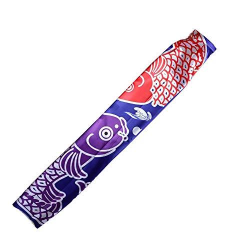 Sommer's Laden 70cm 140cm Japanische Karpfen Tintenfisch-Flagge Spray Windsock Streamer Fisch Flagge Koinobori Drachen Cartoon Bunte Fahne - Flagge Streamer