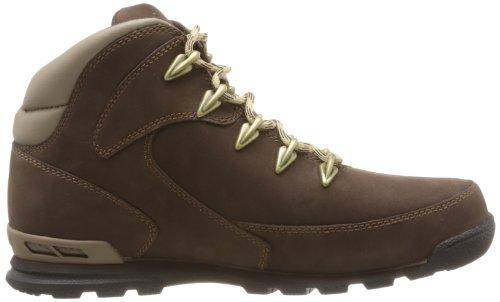 Timberland Ek Eurorockhiker, Boots Homme Marron (Promo Brown Nubuck)