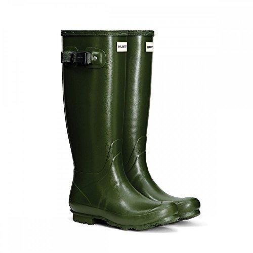 Hunter Norris Field Neoprene Lined Ladies Boot Vintage Green