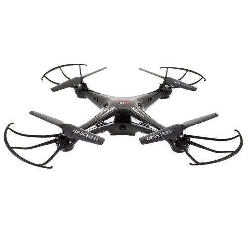 "Syma X5SC Explorers + 5.8G FPV immagine in tempo reale, 4.3 ""Monitor con 2MP HD Camera 6-Axis Gyro RC Headless Quadcopter RTF - Nero"