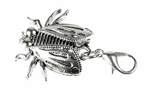 fliege-insekt-charm-anhnger-miniblings-bettelanhnger-bettelarmband-schabe-silb