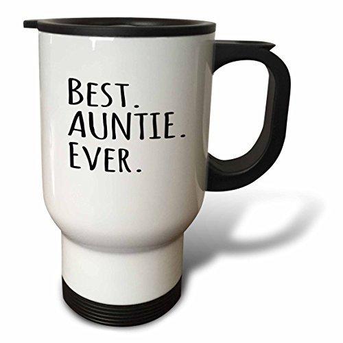 statuear Best Auntie EVER Edelstahl 14-ounce Reise Tasse
