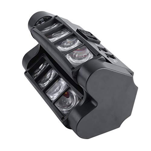 TataYang Moving Head, Portable RGBW Stage Moving Light, Hybrid Strahleneffekt, Disco Lampe Lichteffekt und Stroboskop in einem, DMX, Effektlicht für Partyraum, Bühne, Clubs, Bars und Discotheken