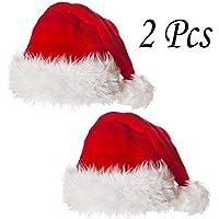 Weihnachtsmützen für Hunde mit Bart Nikolausmütze Santa Claus Mütze Xmas Gr M