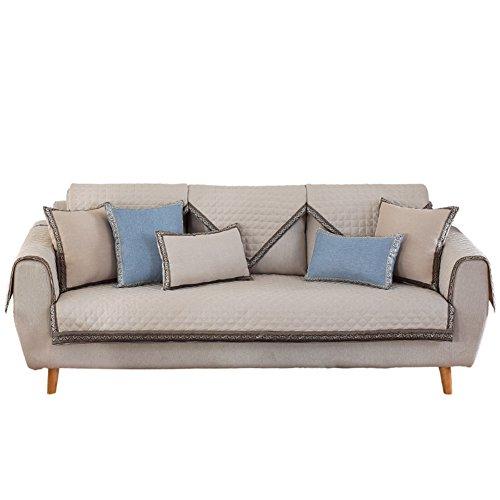 DULPLAY rutschfest, die vier Jahreszeiten, Sofas, einfache Sofa-Schonbezug, Sofa, Möbel Displayschutzfolie, Sofa-Polsterung, nordisch, moderne, Rattan, a, 70x70cm(28x28inch) (Stuhl Sofa Stück 3 Loveseat)