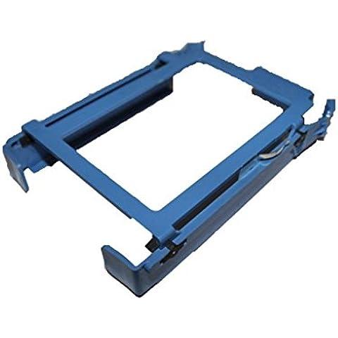 CrownTrade® Dell Blue Hard Drive Caddy For Dimension E310 3100 9150 9200 5150 5100 E510 Optiplex GX520 GX620 Optiplex 960 320 330 360 210L Optiplex 740 745 755 760 SMT (Tower) Part Number: H7283 U6436 YJ221 RH991 (UK Dispatch), [Importado de UK]