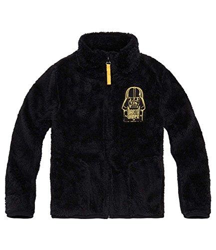 Star Wars-The Clone Wars Darth Vader Jedi Yoda Ragazzi Giacca in pile, Coral - nero - 128