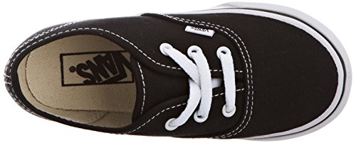 Vans K Authentic, Scarpe Sportive-Skateboard Unisex-Bambini Nero (Black)