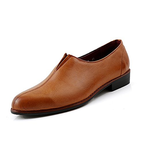 XiaoYouYu  Loafers, Basses homme Marron