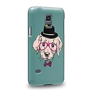 Case88 Premium Designs Art Personate Rottweiler Coque protectrice pour Samsung Galaxy S5 mini (pas Normal S5 !)