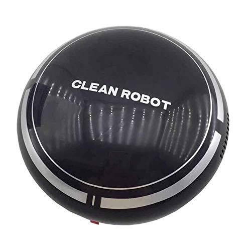 Ting-Ting-Aspirador-De-Robot-Domstico-Aspirador-Robotizado-De-Carga-por-Succin-Alta-Y-Silencioso-USB-Adecuado-para-Pisos-Duros-Negro-BlancoBlack