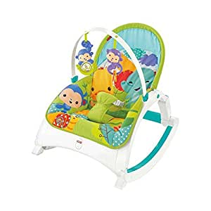 Fisher-Price Rainforest Friends Newborn-To-Toddler Portable Rocker by Fisher-Price