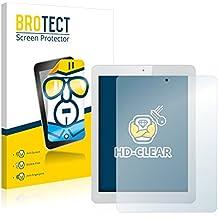2x BROTECT HD-Clear Protector Pantalla Teclast X98 Plus II Película Protectora – Transparente, Anti-Huellas