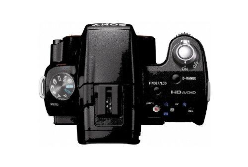 Sony SLT-A33L SLT-Digitalkamera (14 Megapixel, Live View, Full HD, 3D Sweep Panorama) Kit inkl. 18-55 mm Objektiv - 3