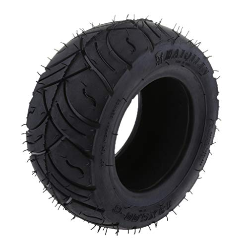 D DOLITY 1 Stück Roller-Reifen-inneres Rohr 13x5.00-6 Zoll Roller-Reifen Reifenschlauch Gebogener Stamm-Innenrohr-Reifen für elektrisches Roller -