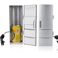 Mini portatile USB fluorine-free tavolo Cooler Warmer frigorifero perfetto per casa ufficio auto viaggio 8.5x 12x 25cm/8,4x 11,9x 24,9cm