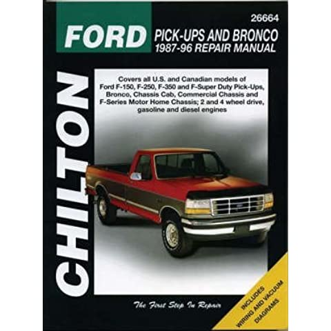 [Ford Pick-ups and Bronco (1987-96)] (By: Chilton Automotive Books) [published: May, 1997]