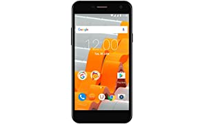 "Wileyfox Spark - 5.0"" HD SIM-Free (Dual SIM 4G) 8MP Cameras Smartphone Latest version of Android - Black"