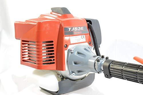 Desbrozadora con motor Kawasaki TJ53 para una sola mano profesional