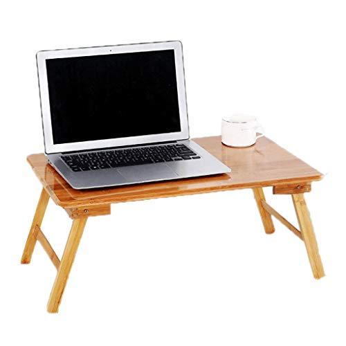 Letto pieghevole computer desk bamboo mobile multifunzione lazy dormitory learning simple modern mumujin (dimensioni : 50 * 30 * 22cm)